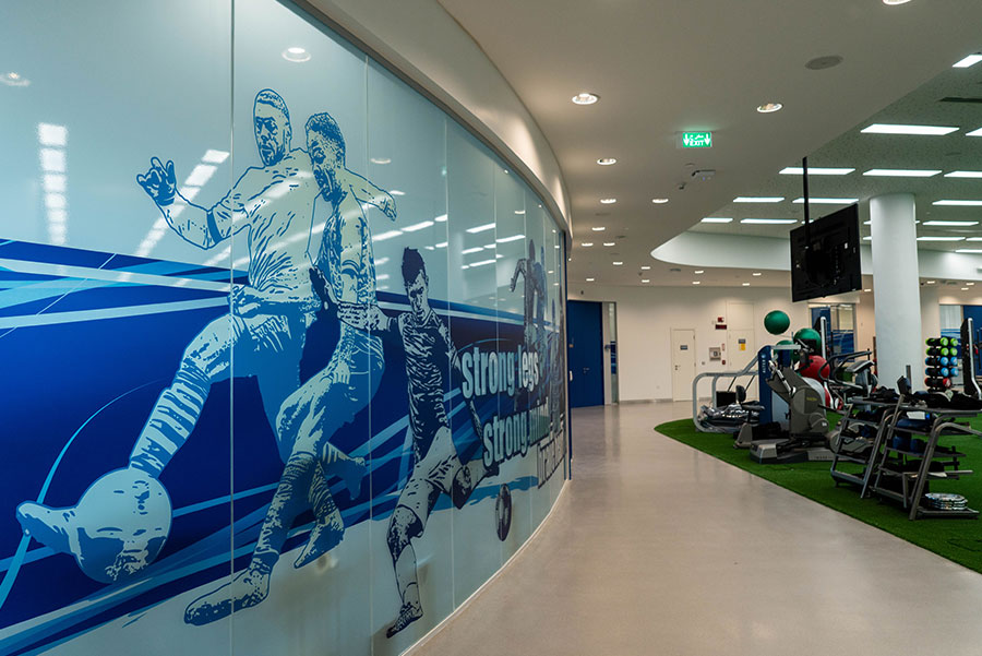 Aspire Academy – Environmental Branding